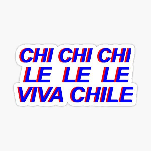 viva chile alegría Pegatina