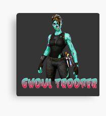 Ghoul Trooper Skin-Fortnite Canvas Print