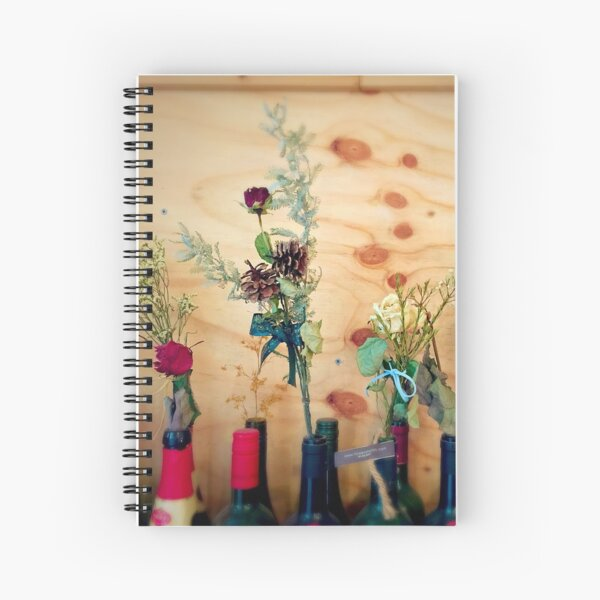 Wine Flowers - Seoul Spiral Notebook
