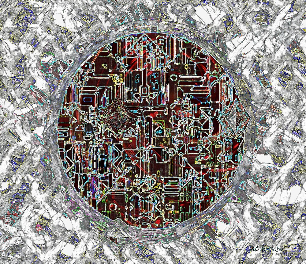 Cyborg Heart by RC deWinter