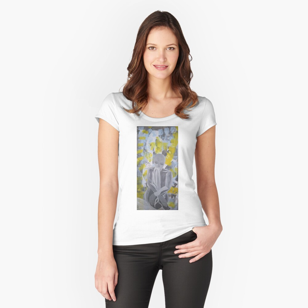 Rest Women's Fitted Scoop T-Shirt Front