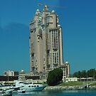 Interesting Abu Dhabi Building by JAYMILO