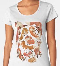 Red foxes Women's Premium T-Shirt