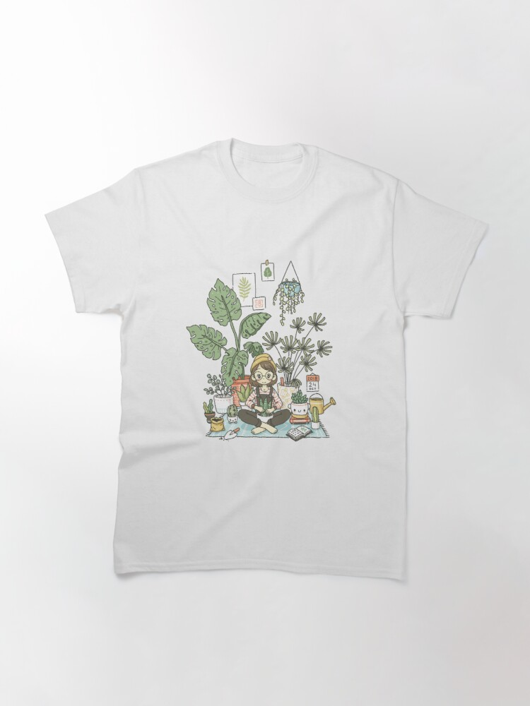 Alternate view of Plant Lady Classic T-Shirt