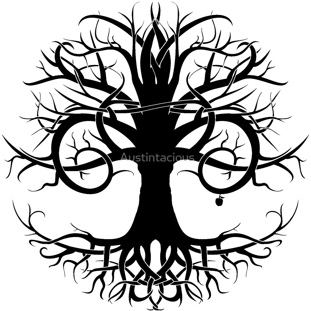 "Tribal Tree Of Life: ""Tree Of Life Tribal"" By Austintacious"