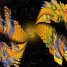 Fractals in Space 2 by Dean Warwick