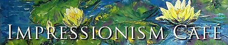 Impressionism Café Banner by Claudia Hansen