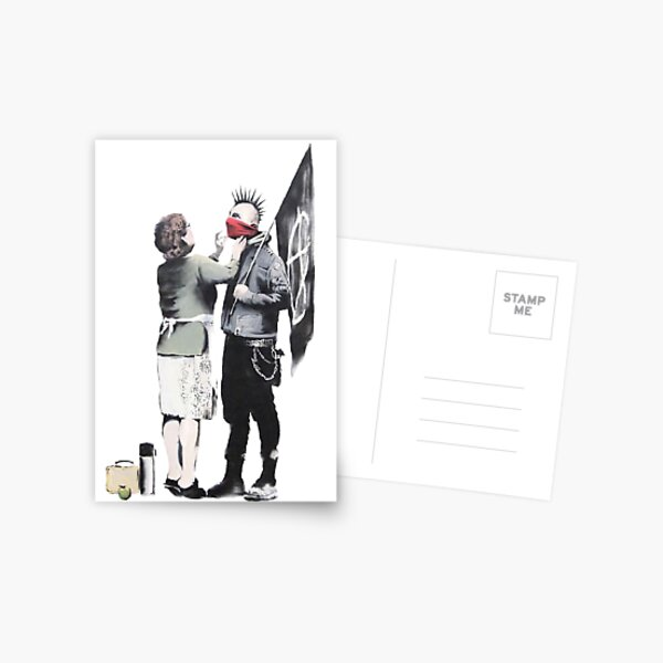 Punks not Dead Postcard