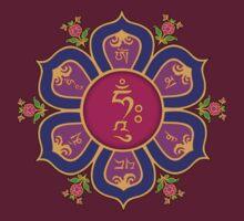 Lotus Throne Mandala (Om Mani Padme Hum)