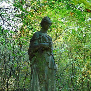 Statue of the Parc de Sceaux by Frogmuse