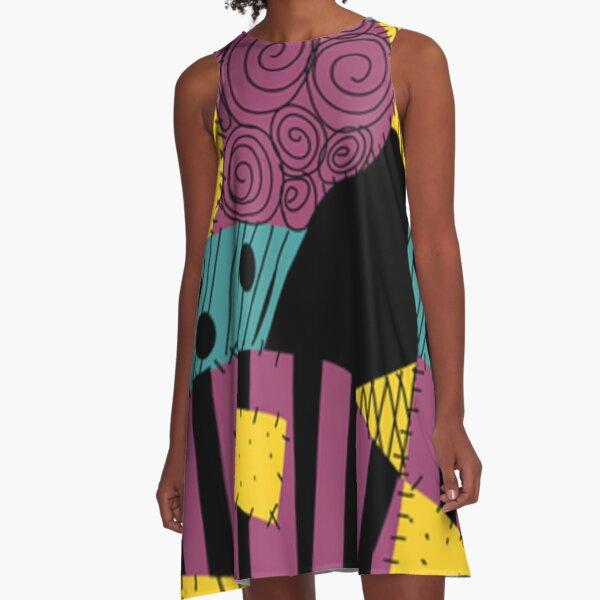 Sally Patchwork Dress A-Line Dress