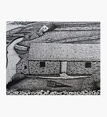 The Comfort of Thatched Roofs Photographic Print