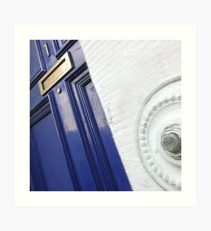 The Door (Press to Enter) Art Print