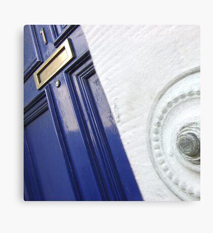 The Door (Press to Enter) Canvas Print