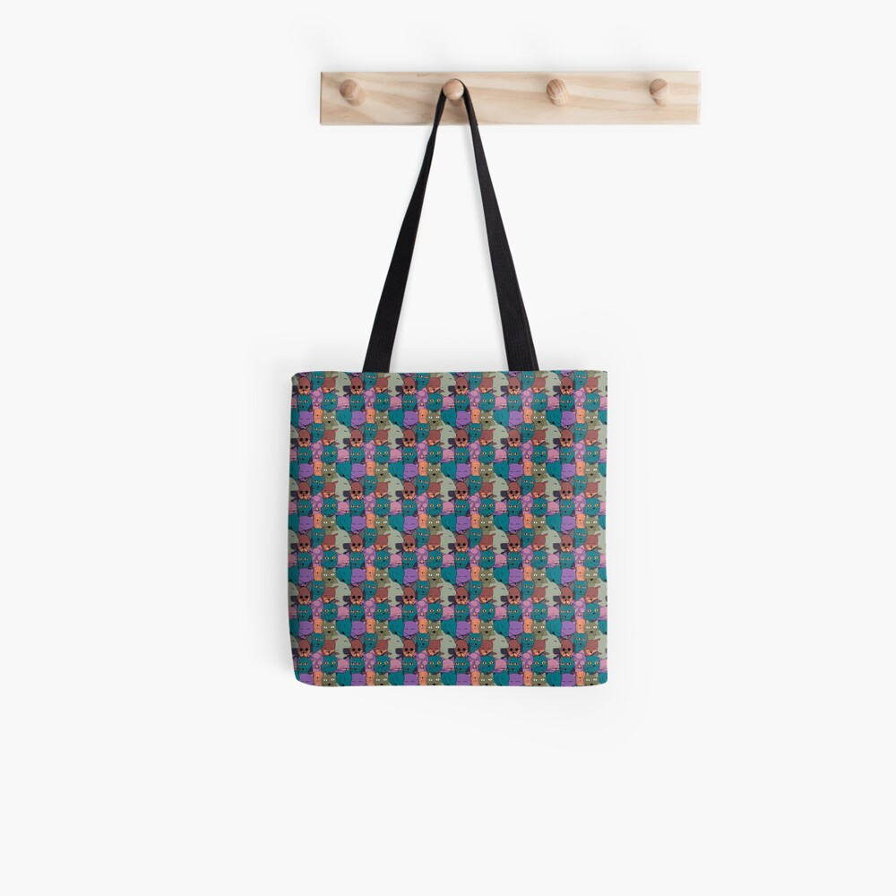 The Cats Family Tote Bag