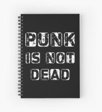 Punk is not Dead Spiral Notebook