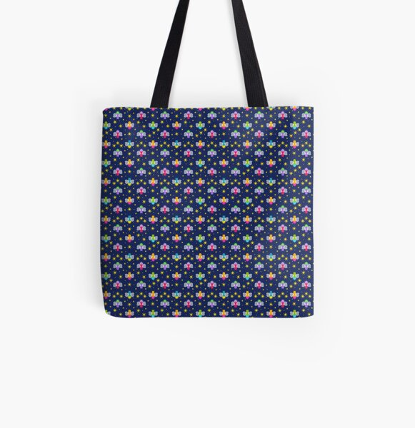 Fireflies All Over Print Tote Bag