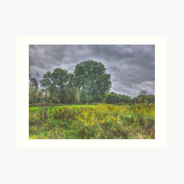 Blacklick Circle Earthwork, Reynoldsburg, OH Art Print