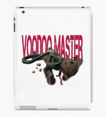 cute halloween voodoo master teddy iPad Case/Skin