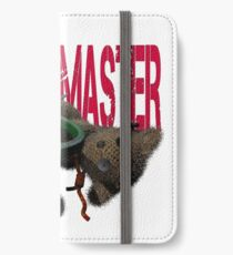 cute halloween voodoo master teddy iPhone Wallet/Case/Skin