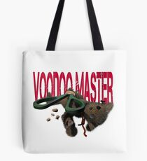 cute halloween voodoo master teddy Tote Bag
