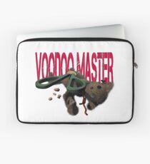 cute halloween voodoo master teddy Laptop Sleeve