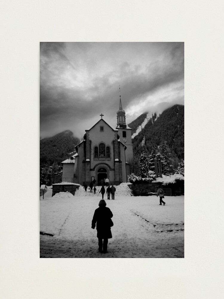 Alternate view of Going to Church Photographic Print