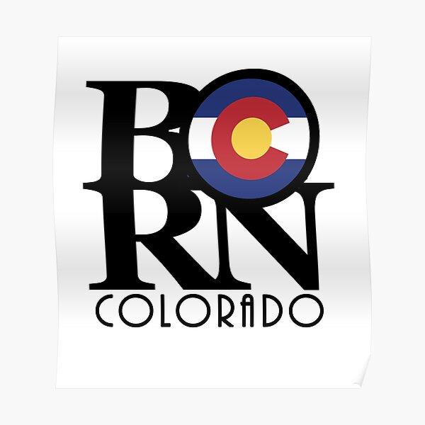 BORN Colorado Poster