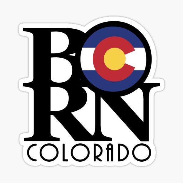 BORN Colorado Sticker