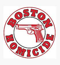 Rizzles Boston Homicide Logo Photographic Print