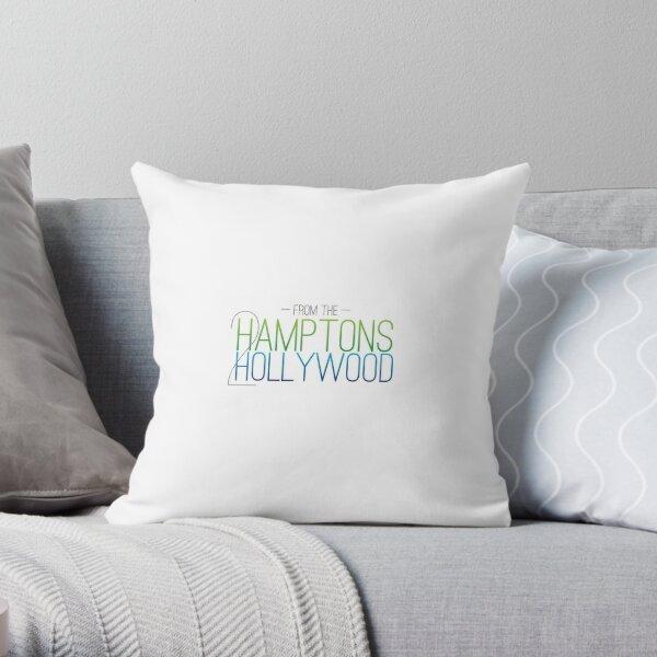 Hamptons to Hollywood Apparel Throw Pillow