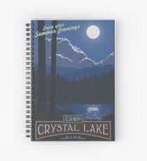 Horrible Summer Camp Spiral Notebook
