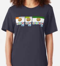 Overcooked - Burger of the Day! Slim Fit T-Shirt