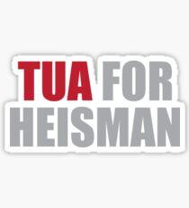 Tua Tagovailoa for Heisman Sticker