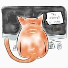 Internet Cat by Jon Gary