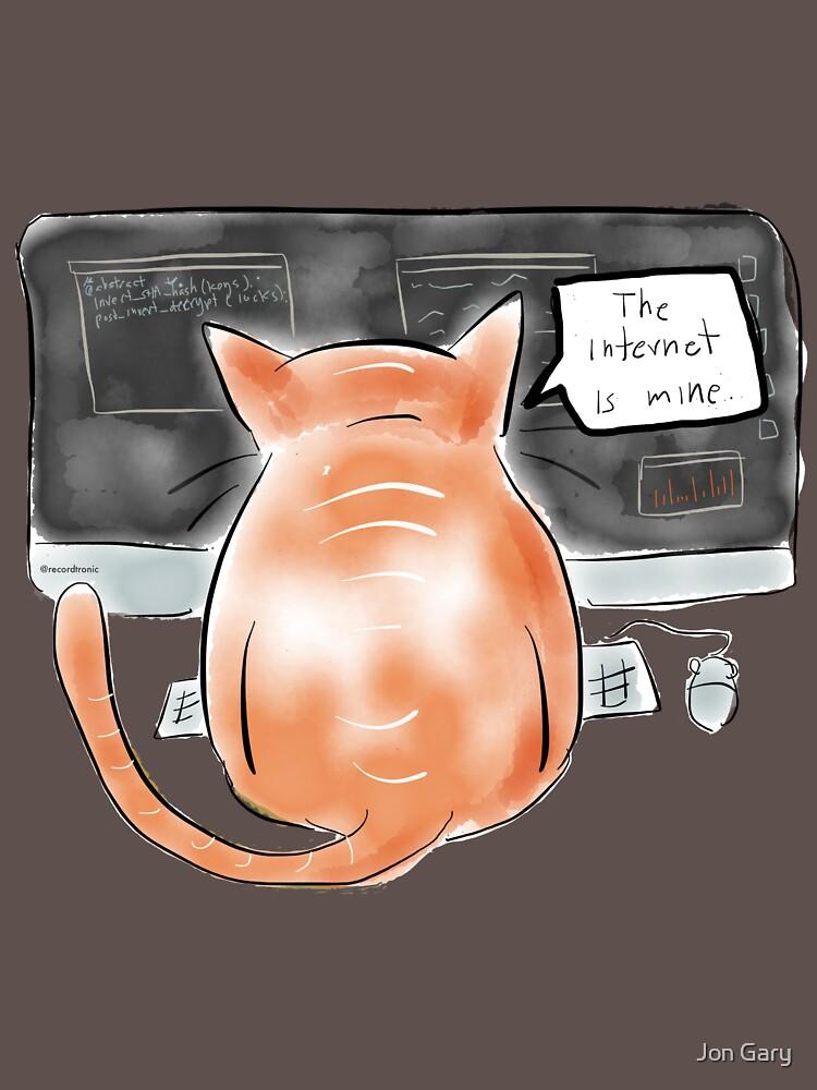 Internet Cat by jongary