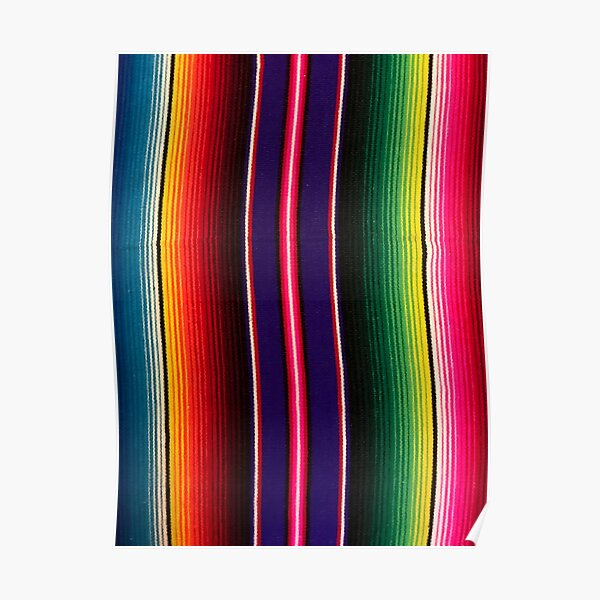 Mexican Serape Lovely Poster