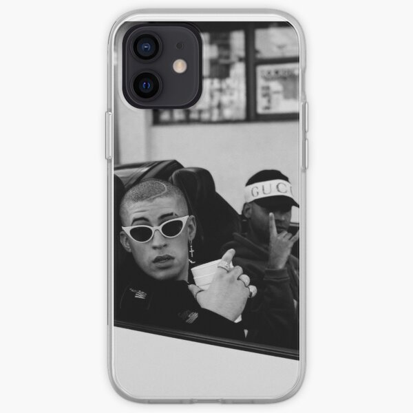 Bad Bunny Car Funda blanda para iPhone