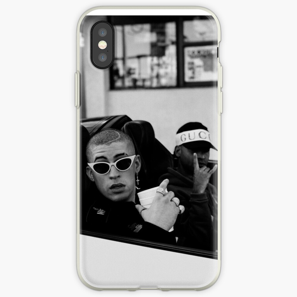 Bad Bunny Car Vinilos y fundas para iPhone