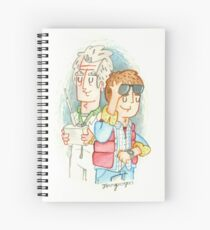 Doc & Marty Spiral Notebook