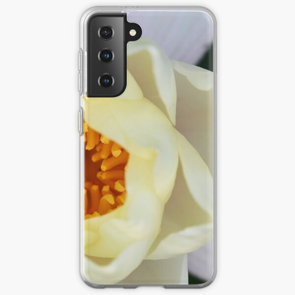 White Lilly 2 Samsung Galaxy Soft Case