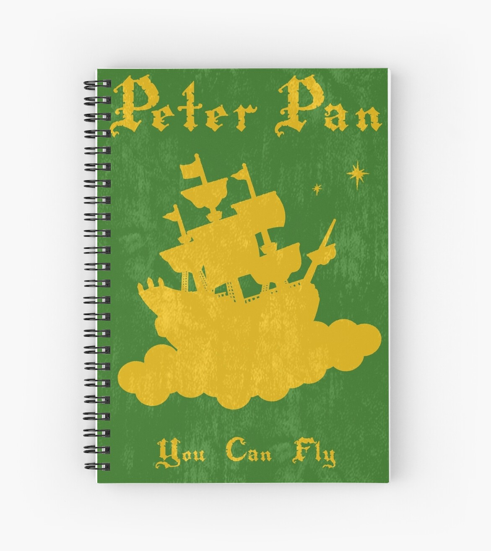 Peter Pan Minimalist Poster\