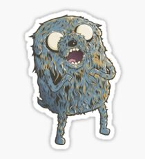 Jake is Hungry! Sticker