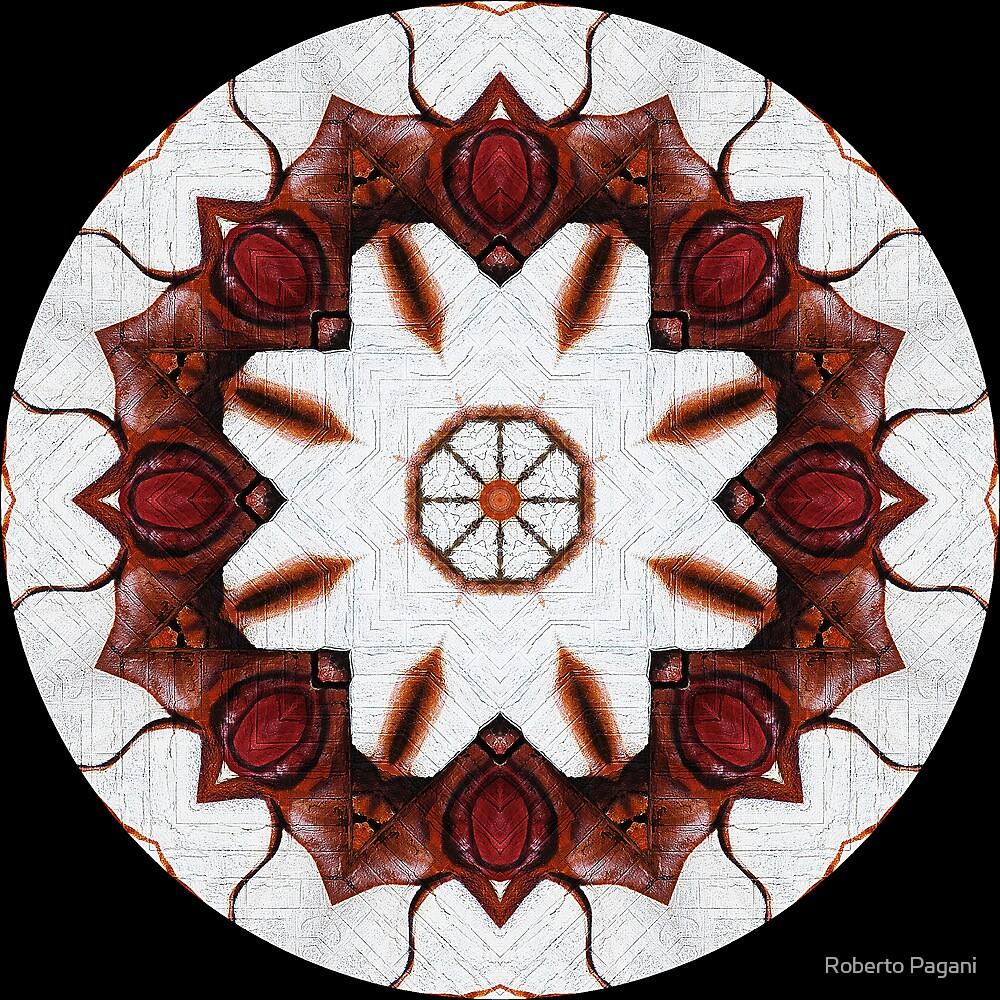 Graffito kaleidoscope #24 by Roberto Pagani