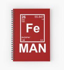Fe (Iron) Man Spiral Notebook