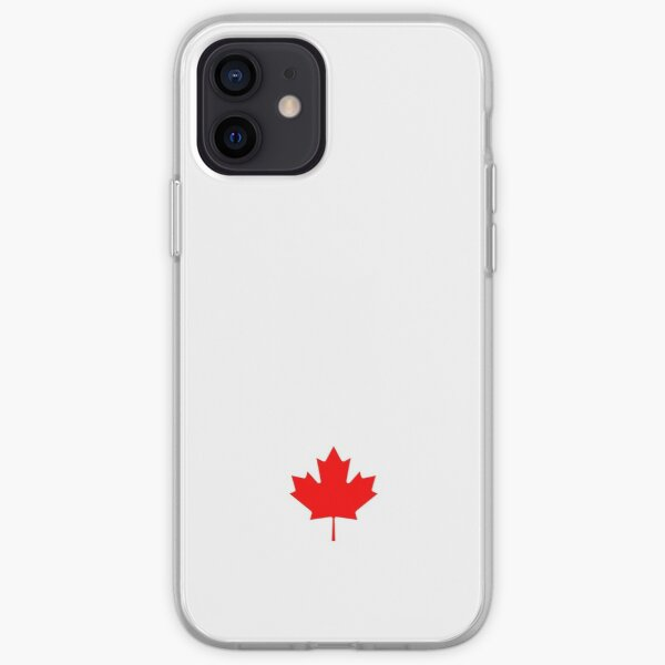 I Love Canada - Country Code CA T-Shirt & Sticker iPhone Soft Case