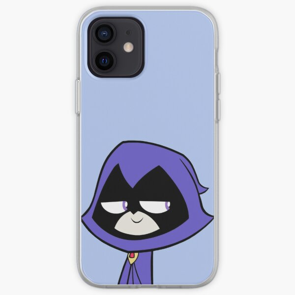 Smug Raven iPhone Soft Case