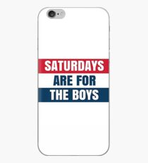 Saturdays Are For The Boys Barstool Sports iPhone Case