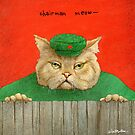 Will Bullas / print / Chairman Meow... / humor / cat by Will Bullas