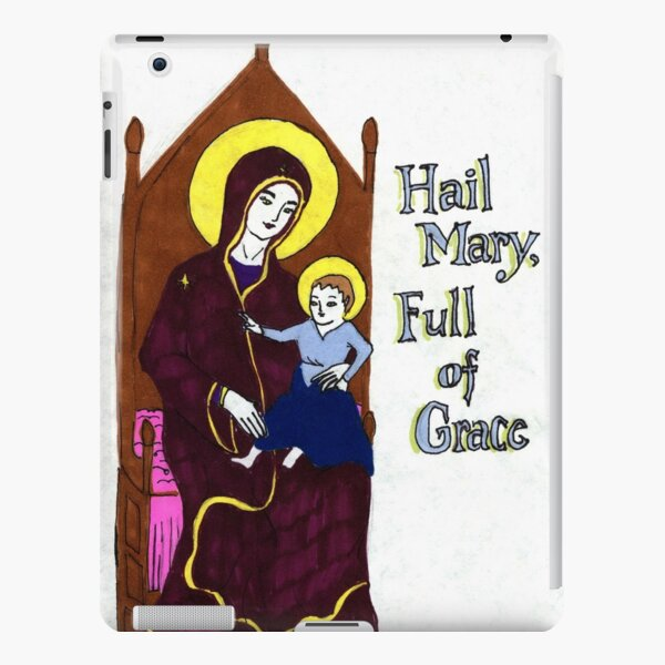 Hail Mary Full of Grace iPad Snap Case